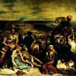 Delacroix, Masakr na Hiosu