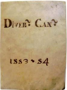 Diversa Cancellariae, 1553–54