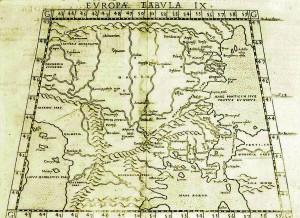 Karta iz Ptolemejeve Geographije