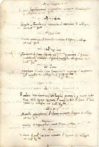 Libro deli Signori Chazamorbi, Sanitas  (Državni arhiv u Dubrovniku, serija 55, sv. 1, f. 72r a tergo)