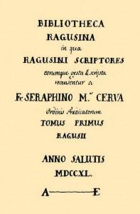 Bibliotheca Ragusina