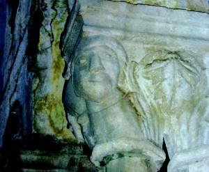 dio kapitela u klaustru franjevačkog samostana u Dubrovniku