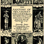 Burton, The Anatomy of Melancholy