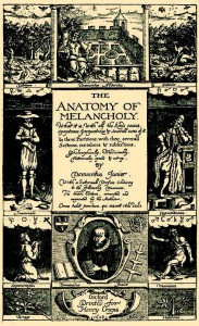 Burton, The Anatomy of Melancholy