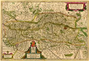Karta Austrije
