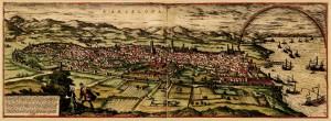 Karta Barcelone,1572.