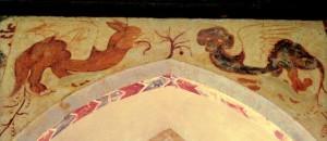 Bazilisk na muralu