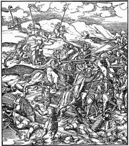 Burgkmair, prizor iz bojeva