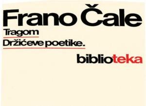 Frano Čale - Tragom Držićeve poetike, 1978