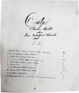 Ivan Kukuljević Sakcinski, Cvĕtje Pĕsnikah Ilirskih, l b 86,  Zagreb, Arhiv HAZU