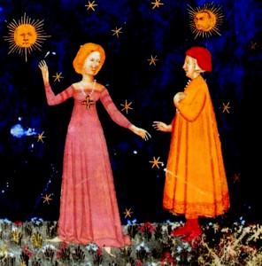Dante s Beatrice u raju