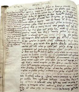 M. Držić 14. I. 1562. od braće Vicka i Vlaha traži isplatu 105 dukata  (Državni arhiv u Dubrovniku, Sententiae Cancellariae, sv. 127, f. 4v)
