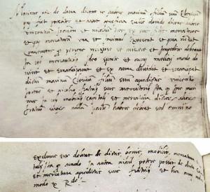 Dana 15. X. 1539. otac emancipira M. Držića od obiteljskih poslova  (Državni arhiv u Dubrovniku, Diversa Cancellariae, sv. 126, f. 18r–18v)