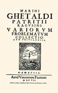 Variorum problematum collectio