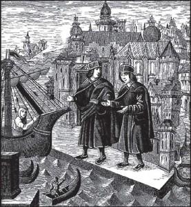 Levantski trgovci,  XV. st.