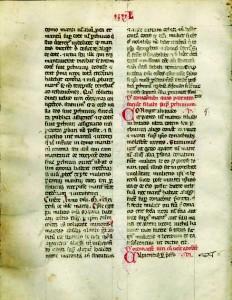 Odredbe o mirazu u Statutu iz 1272  (Državni arhiv u Dubrovniku, Leges et instructiones, sv. 9b, f. 35r–36v)