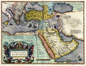Karta Osmanskoga Carstva