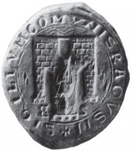Pečat, 1436.