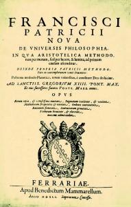 Nova de universis philosophia