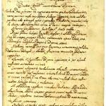 Pjerin, Rešetarov rukopis