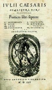 Scaligero, Poetices libri septem