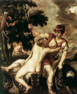 Tizian Venera i Adon